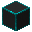Glowing Hexorium-Coated Stone (Cyan)