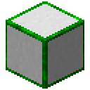 White Glowing Hexorium-Coated Stone (Green).png