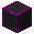 Glowing Hexorium-Coated Stone (Magenta)
