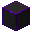 Glowing Hexorium-Coated Stone (Purple)