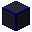 Glowing Hexorium-Coated Stone (Blue)