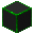Glowing Hexorium-Coated Stone (Green)